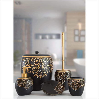 Luxury Turkish 5PC Bathroom Accessories Set
