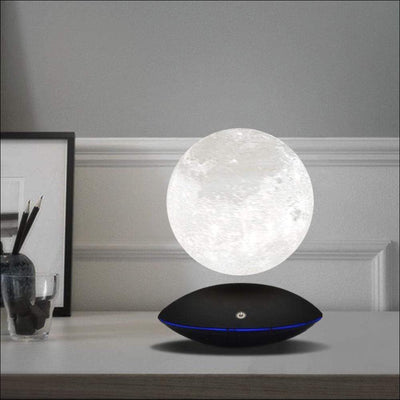 Magnetic Levitating 3D Printed Moon Lamp
