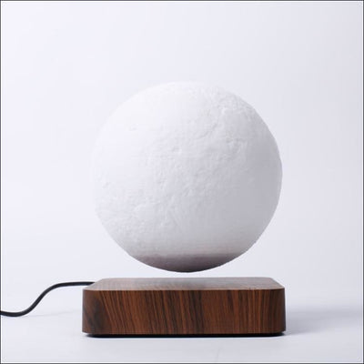Magnetic Rotation Levitating 3D Moon Lamp