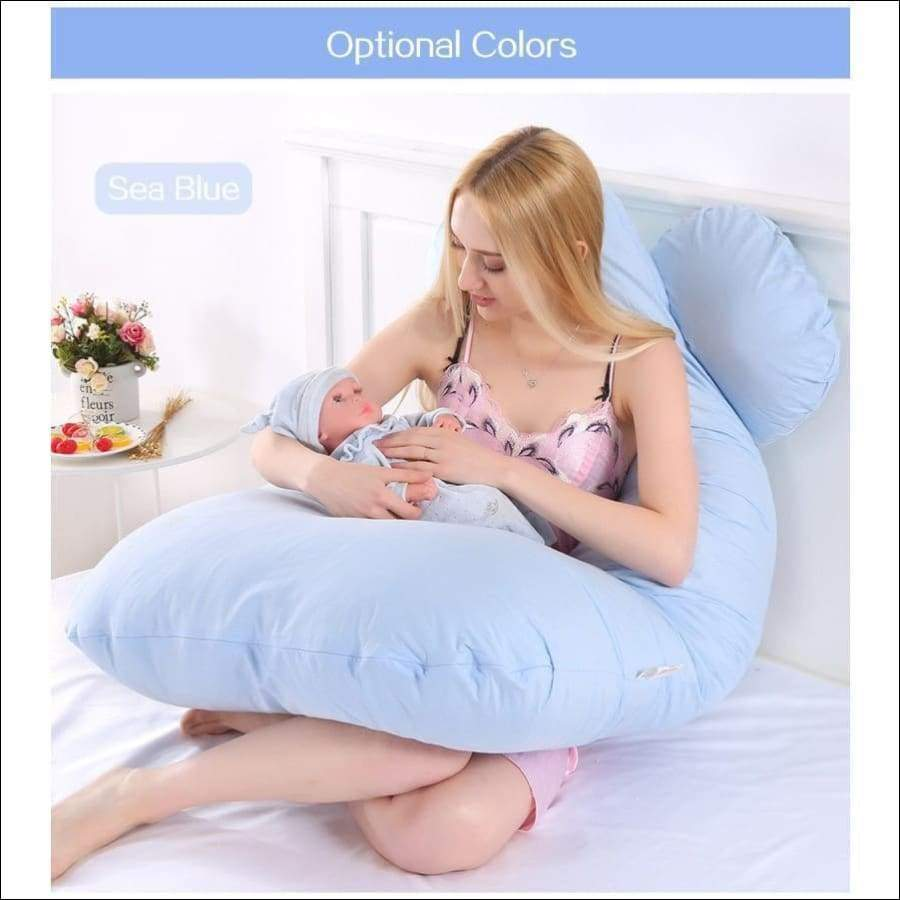 Maternity Pregnancy Throw Pillow