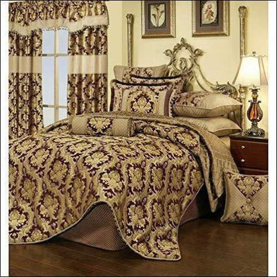 Medallion Royalty 3PC Bedding Set