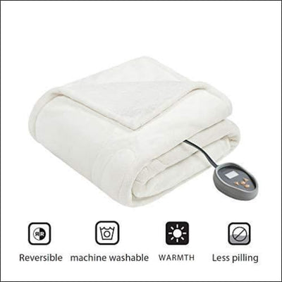 Micro-light Berber Electric Heated Blanket