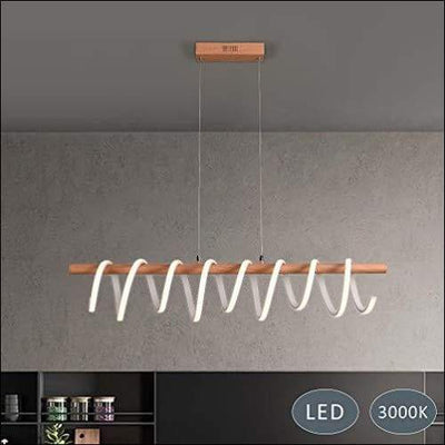 Minimalist Spiral Spring Pendant Ceiling Lamp