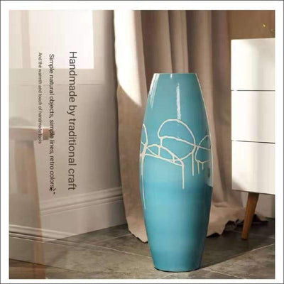 Modern European Floor Flower Vase