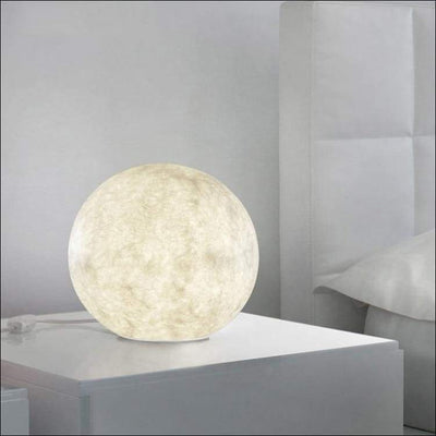 Modern Glass Orb 3D Moon Lamp