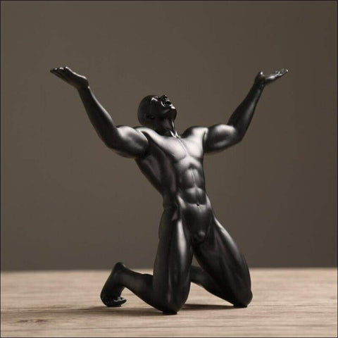 Modern Movement Man Sculpture