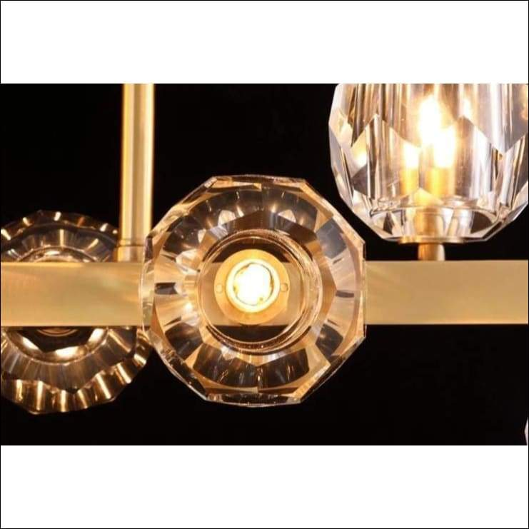 Molecular Crystal Copper Brass Ceiling Lamp - Lamps & Lighting