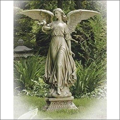 Monumental Roman Divine Angel Floor Statue - Outdoor