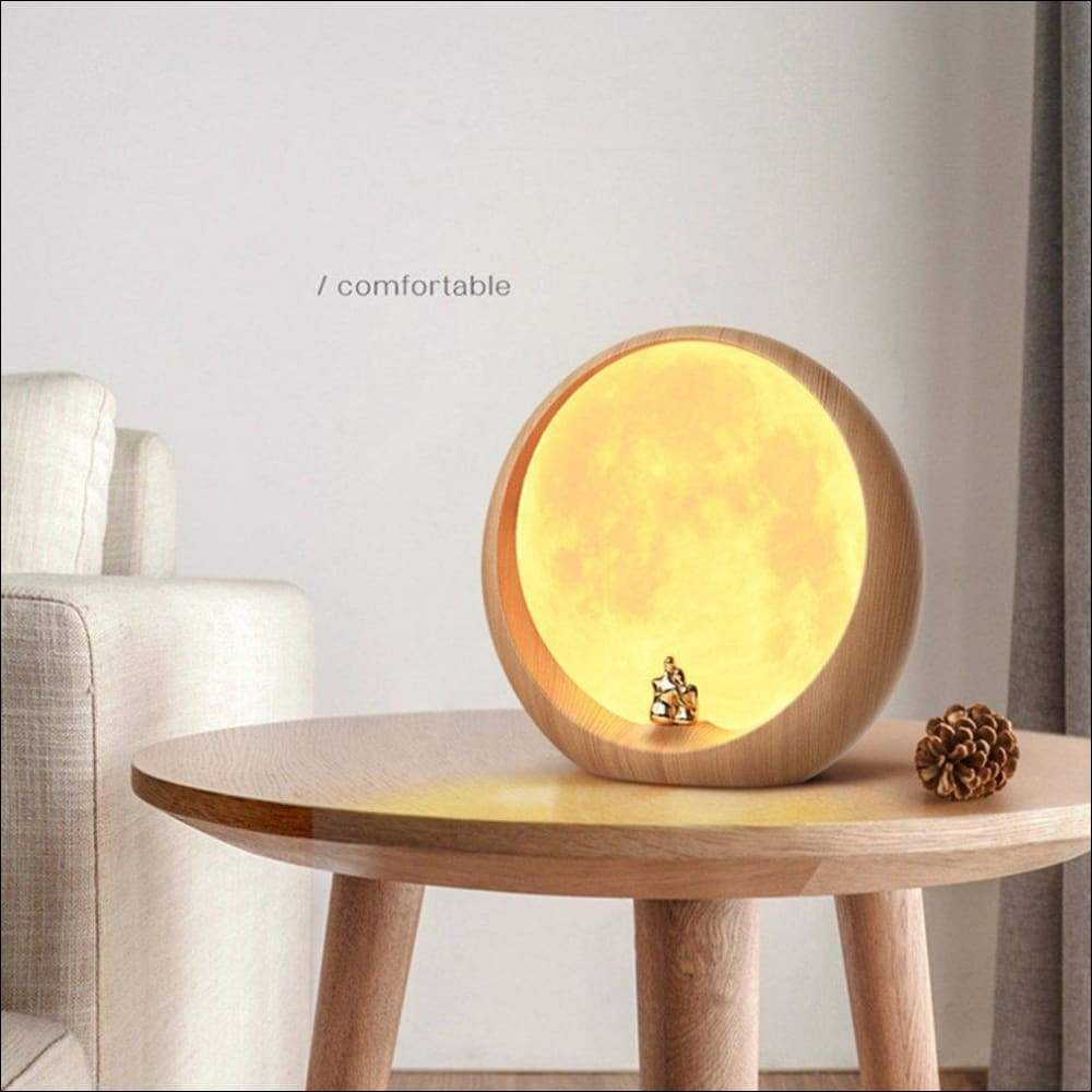 Moon Cloud 3D Moon Lamp