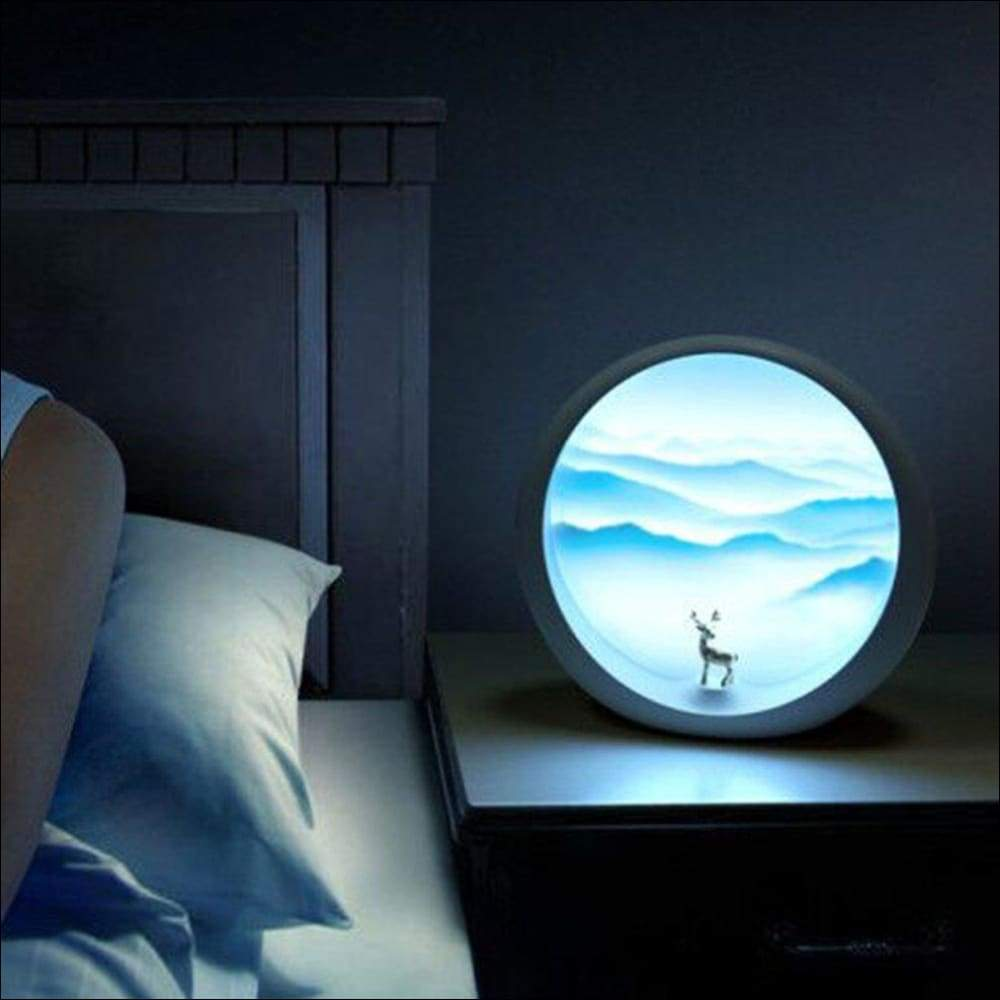 Moon Cloud 3D Moon Lamp - Lamps & Lighting