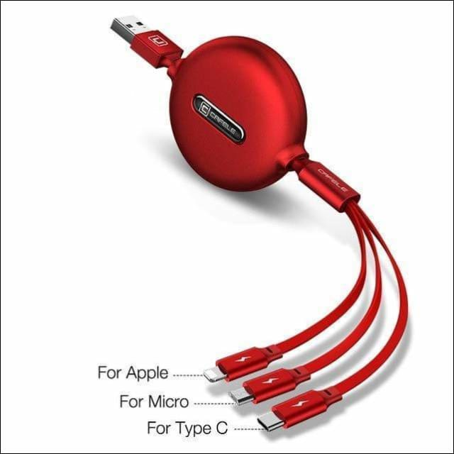 Multi-cable Phone Charger