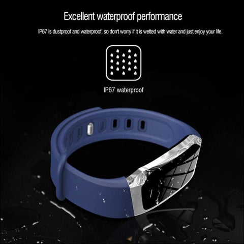 heart rate monitor smart wrist watch