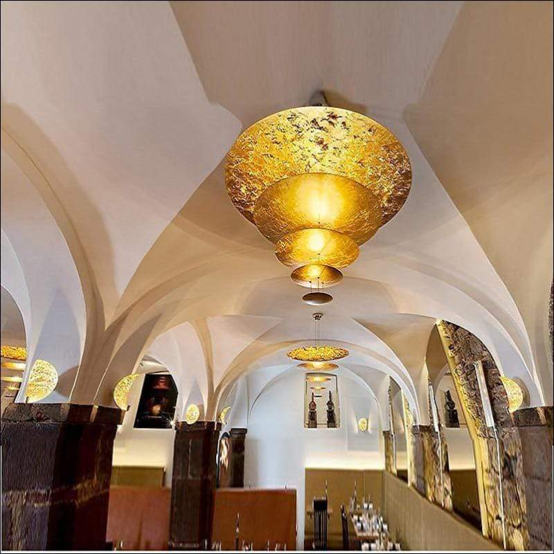 Nordic Luxury Gold Pendant Ceiling Lamp
