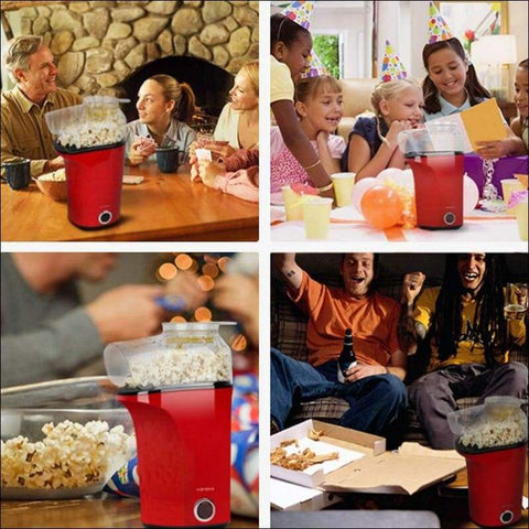 Oil-Free Electric Popcorn Machine - Home Electronics