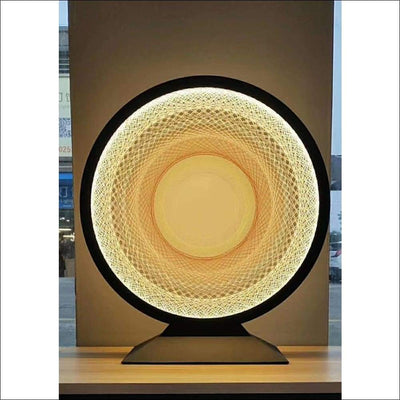Optical Fiber Eye of God Table Lamp