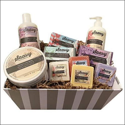 Organic Gluten-Free 10PC Spa Gift Basket