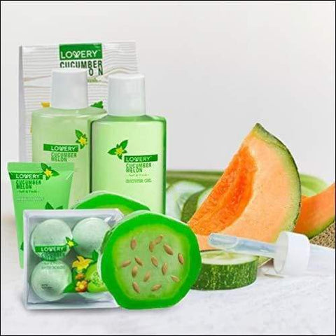 Organic Melon Antibacterial Aromatherapy 12PC Soap & Lotion Set - Novarian Creations