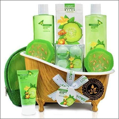 Organic Melon Antibacterial Aromatherapy 12PC Soap & Lotion Set