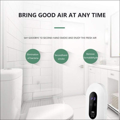 Ozone Deodorizer Home Air Purifier - Home Electronics