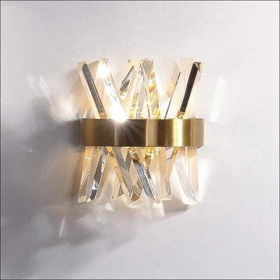 Perforated Crystal Modern Wall Lamp
