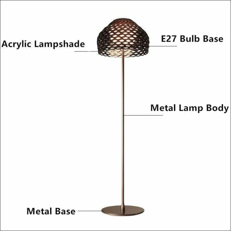 Pine-cone Acrylic Floor Lamp - Lamps & Lighting