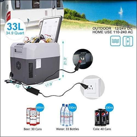 portable electric cooler for camping