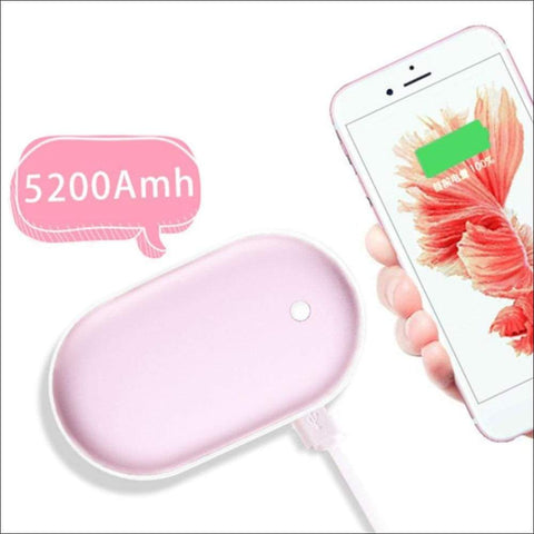 Portable Dual Electric Hand Warmer - Travel Electronics