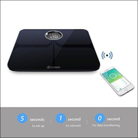 bluetooth electric body weight scale