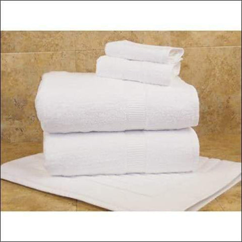 Pure Cotton White 36PC Bath Towel Set - Bed & Bath