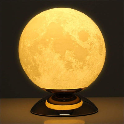 Resin Lunar 3D Moon Lamp