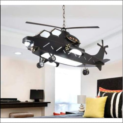 Retro Helicopter Chandelier Ceiling Lamp