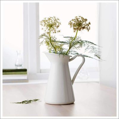 Retro Iron Pitcher Tabletop Flower Vase