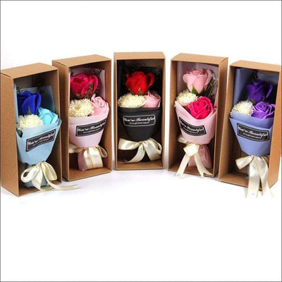 Rose Petal Soap Gift Box