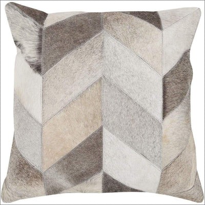Rustic Cocoa Brown Poly Throw Pillow