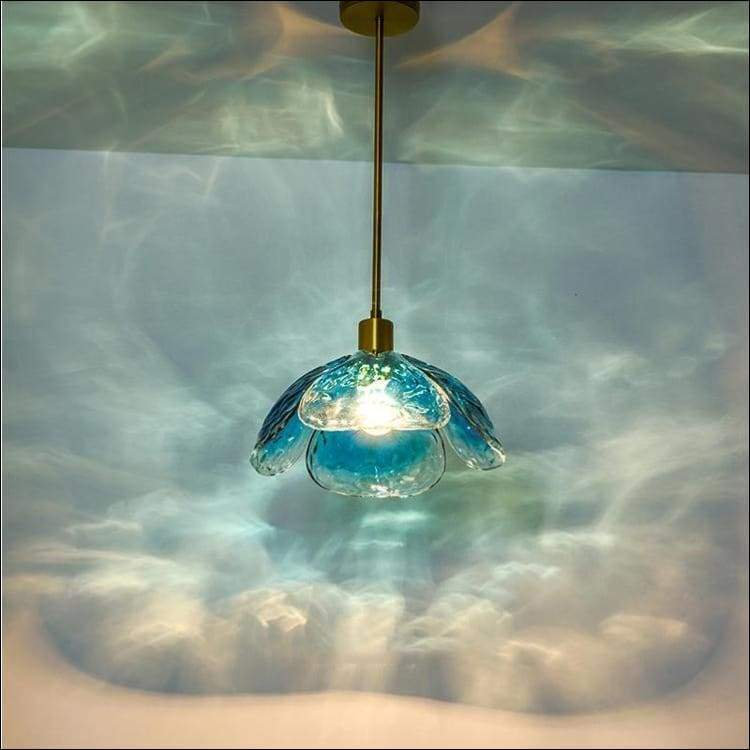Scandinavian Frosted Glass Hanging Pendant Ceiling Lamp