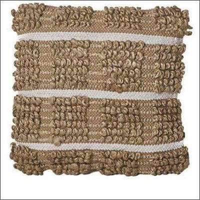 Selki Natural Jute Throw Pillow