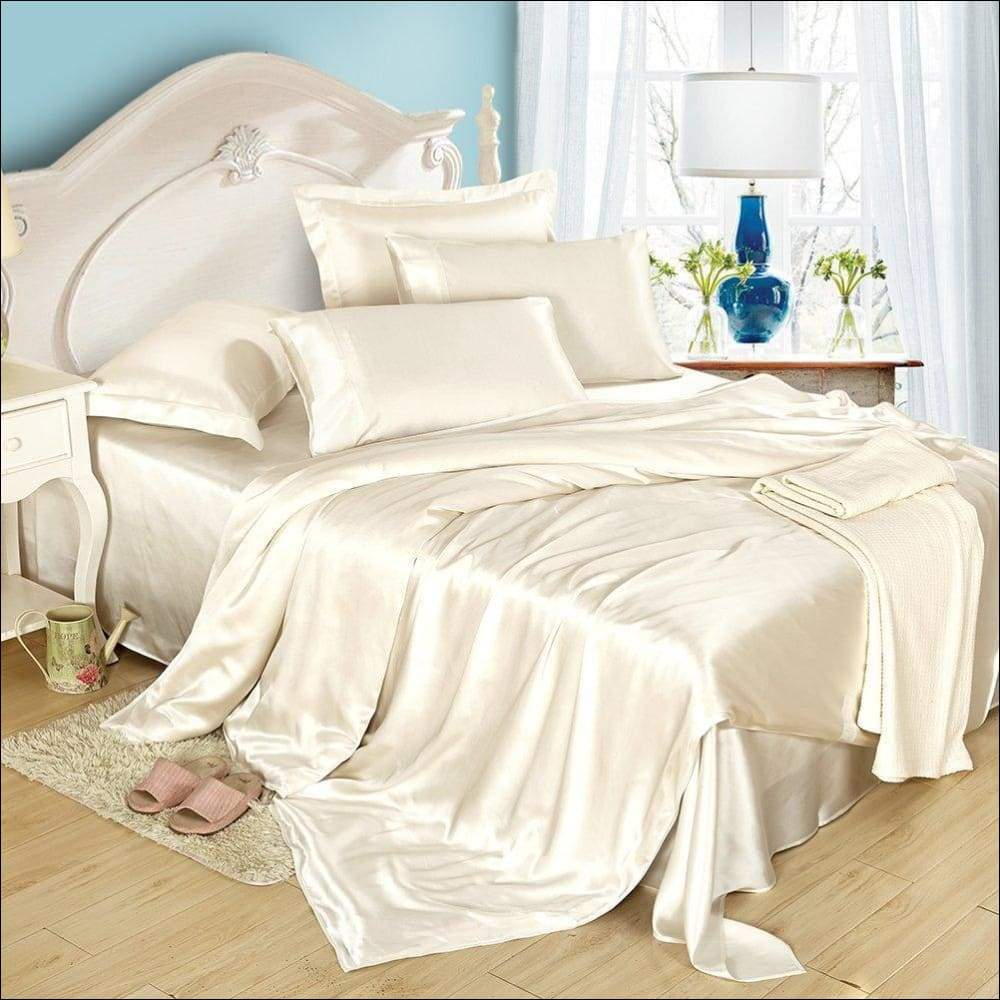 Silk Momme Duvet 5PC Bedding Set - Novarian Creations