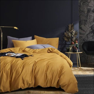 Silky Egyptian Cotton 6PC Bedding Set - Queen Size 6Pcs