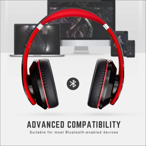 Soft Protein Earmuff Wireless Headphones - Travel Electronics