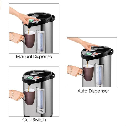 Stainless Steel Electric Water Boiler - Home Electronics