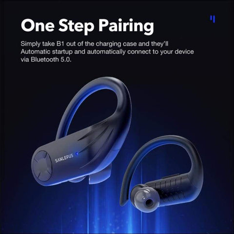 Stereo LED Waterproof Wireless Earbuds - Travel Electronics