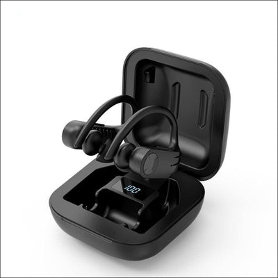 Stereo LED Waterproof Wireless Earbuds