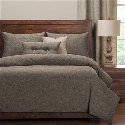 Stone Gray Farmhouse 6PC Bedding Set