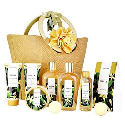 Sunflower Vanilla 10PC Spa Gift Basket