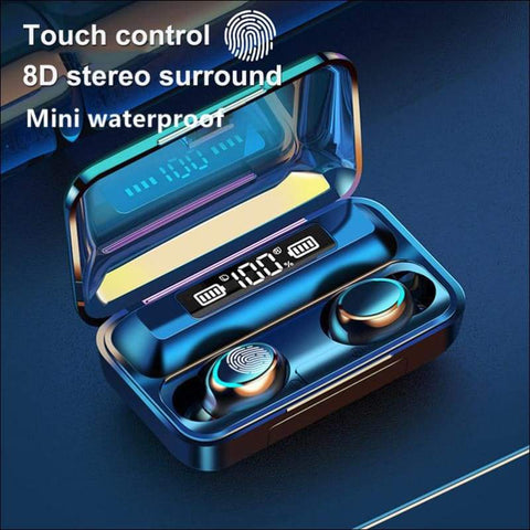 Touch Wireless Waterproof Earbuds - Travel Electronics