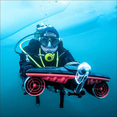 Tri-speed Thruster Electric Underwater Scooter