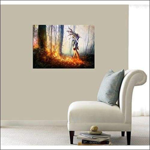 Trust In Me Framed Canvas Painting - Canvas Paintings Under $500