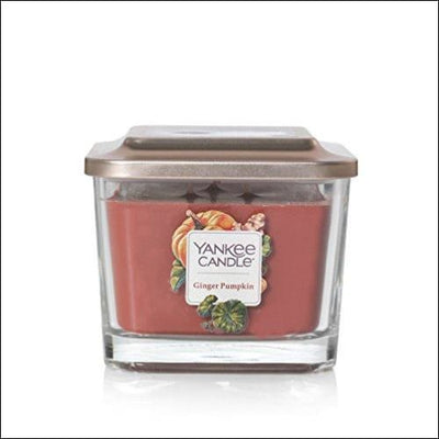Vanilla Ginger Pumpkin Medium Scented Soy Candle