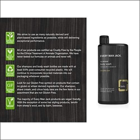 Volcanic Clay 2PC Body Wash Set - Novarian Creations