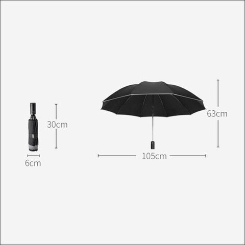 led umbrella with flashlight